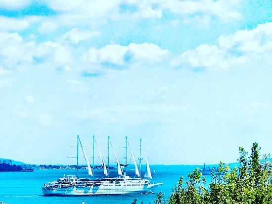 Poster Değil Sultanahmet Terrace Restaurant Manzarasıdır Tüm Misafirlerimiz Manzaramızı ve Lezetlerimizi keşfetmeye Bekliyoruz..