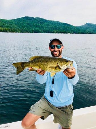 Lake George offers amazing smallmouth fishing