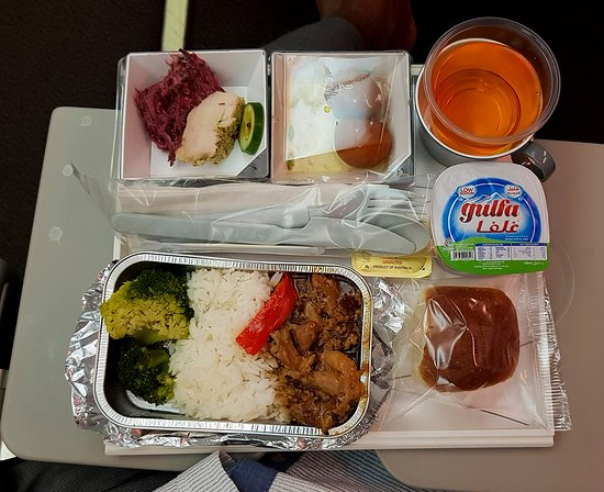 Malaysia Airlines: Enjoy if hungry