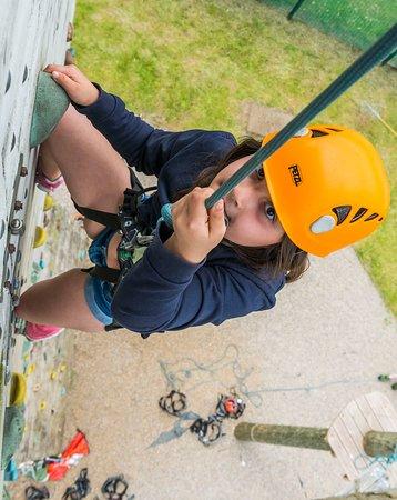 Climbing at West Leeds Activity Centre
