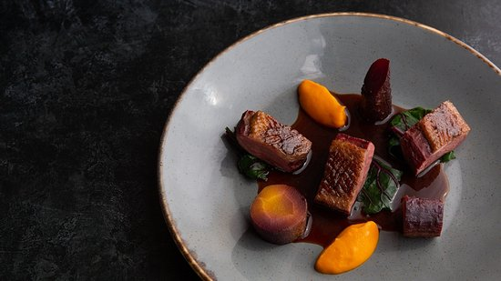 The Flying Boat: Honey & five spice duck
