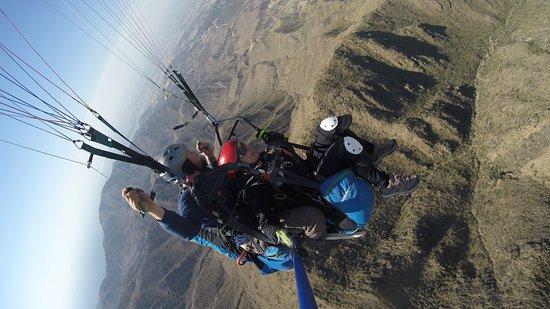El Challao Mendoza vuelos de Bautismo