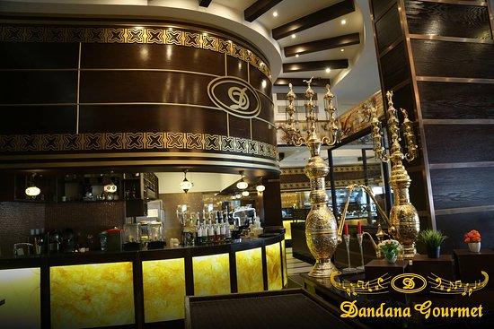 Dandana Gourmet Restaurant: Dandana Bar Area