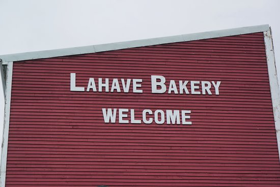LaHave Bakery:  rear view