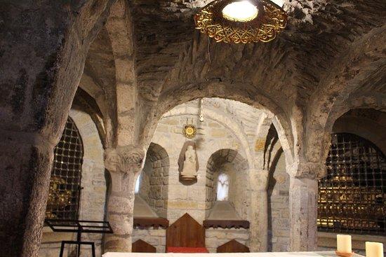 Cathedral San Vicente de Roda de Isabena : Catedral de Roda de Isabena. Interior