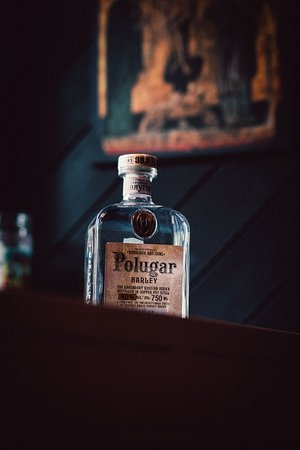 Polugar Russian vodka