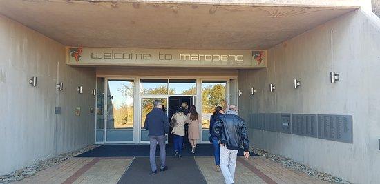 Visiting Maropeng Museum