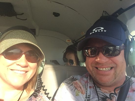 Grand Canyon All-American Helicopter Tour: smiling all the way