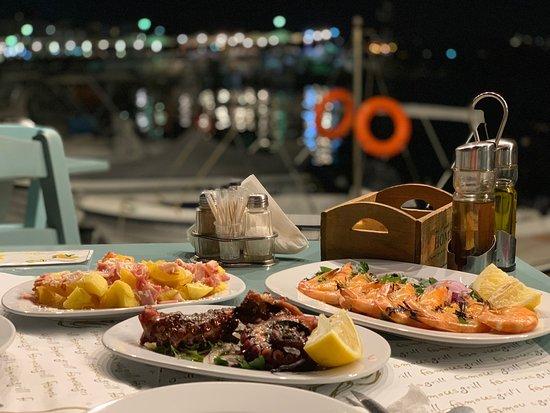 Pesce fresco e location romantica