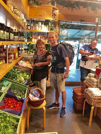 Our food your guide and Sue