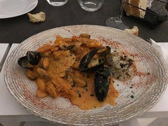 Argo Restaurant: Sea food all'Ouzo