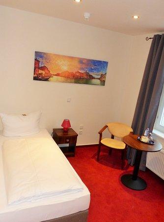 Einzelzimmer Standard Hotel Frankfurt Oder,,Zur Alten Oder``