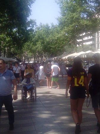 Barcelona, Španělsko: Setaliste