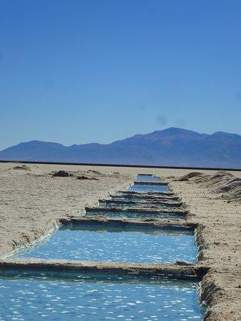 Salinas Grandes: Piletones (artificiales)