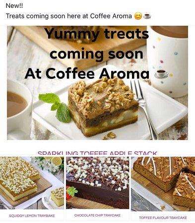 Coffee Aroma: Treats galore