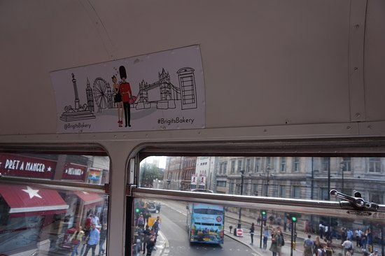 Brigit's Afternoon Tea Bus: Advertising sights you don't get to see