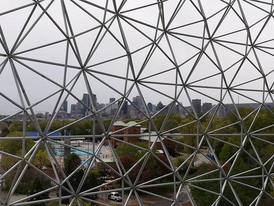Montreal, Kanada: from inside the Sphere - top floor