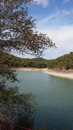 Lac du Paty, joli mais pas très propre autour