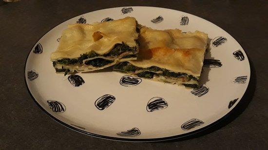 Russi, Italien: Pasta al forno vegetariana