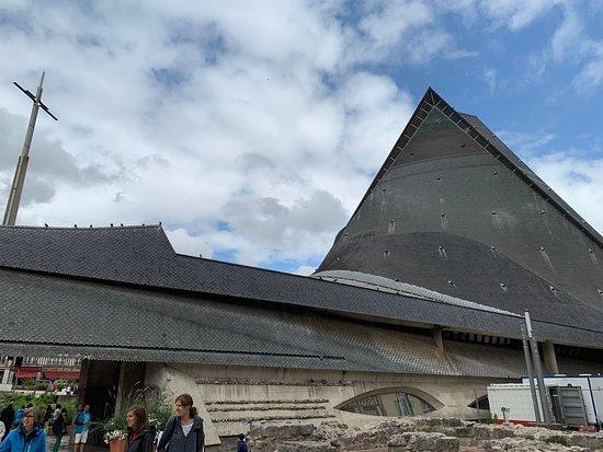 Rouen Enigma: Joan of Arc church.