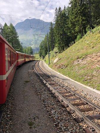 Grand Hotel Britannia Excelsior: Bernina Express