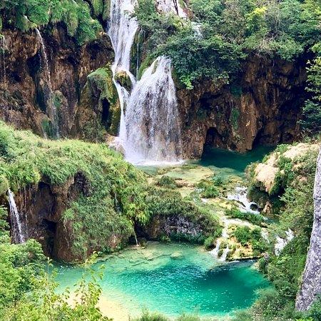 Nationalpark Plitvicer Seen Karte.Plitvice Lakes National Park Nationalpark Plitvicer Seen