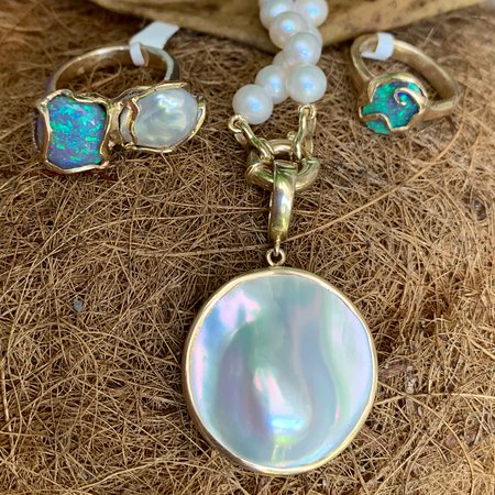 Handmade Gold + Silver Pearl and Stone pieces