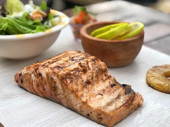 Fresh Pacifi Salmon