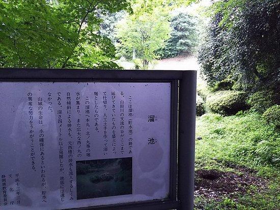 Yamanaka Castle Ruins: 山中城跡