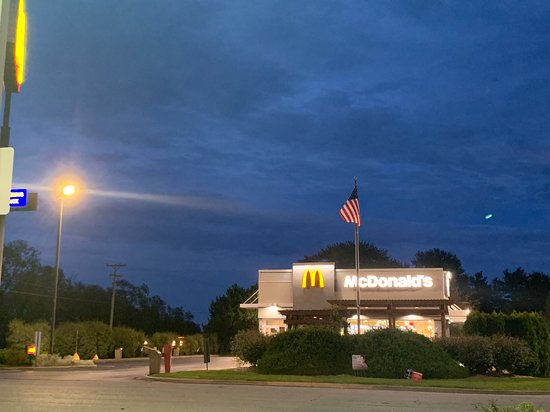 Peotone, IL: Front of McDonald's
