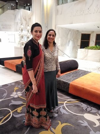 Exceptionally, amazing feeling to enjoy warm hospitality of ITC Mughal , Agra very young lobby Manager Ajay Das, who had made us pamperd.