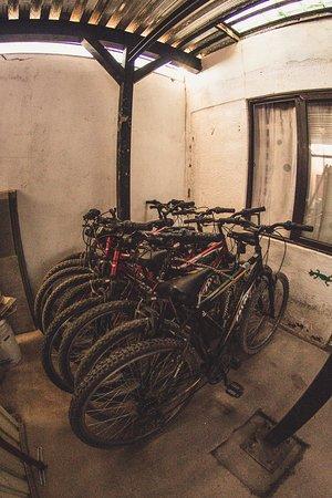 Rey Lagarto Hostel: Bicicletas Gratis Disponibles (previo pago de garantía)