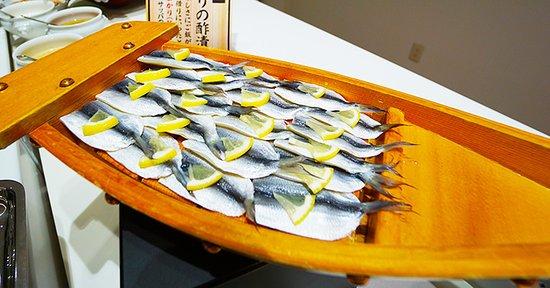 岡山名物料理も豊富な朝食バイキング