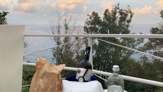 Bistrot de Vaze la terrazza sul mare all'Orizzonte: vista dalla terrazza