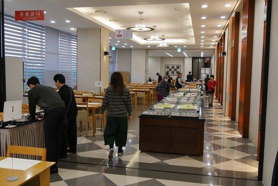 Sono Belle - Gyeongju: 朝食はビュッフェ