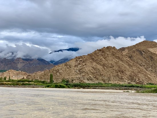 The Indus River Camp: View from my tent