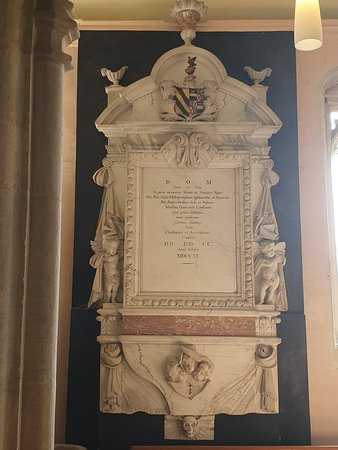 Monument inside the Church