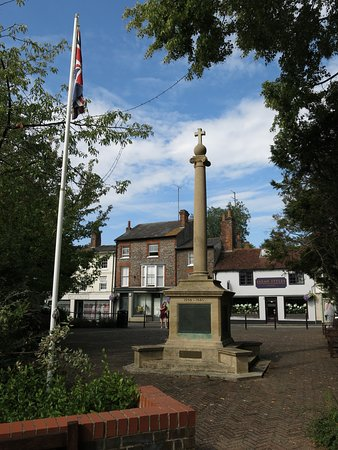 Hungerford Arcade Antiques and Collectables: a mention of the war memorial in town...