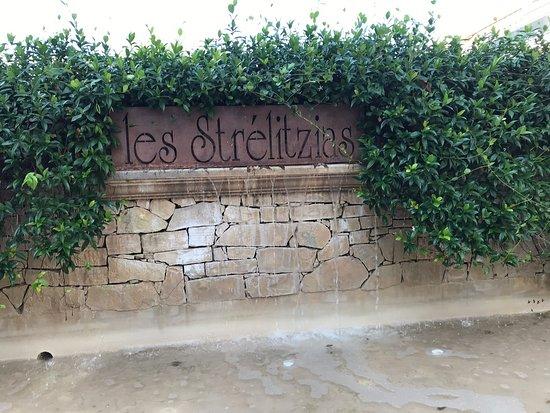 Les Strelitzias: Fontana esterna