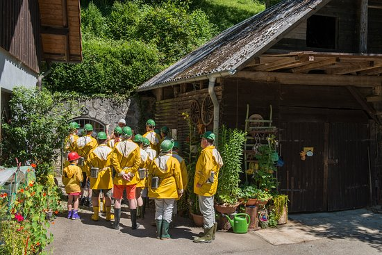 Ausgestattet mit Grubenlampe, Helm, Gummistiefeln und Jacke geht es mit unseren Erlebnisführern unter Tage. Sie reisen in die Vergangenheit der Grube Wenzel.