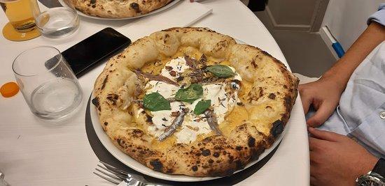 Una delle ottime pizze che abbiamo assaggiato.