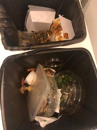 Found these filthy garbages left in the room when checked the in on 8/27. Most disgusting travel experience