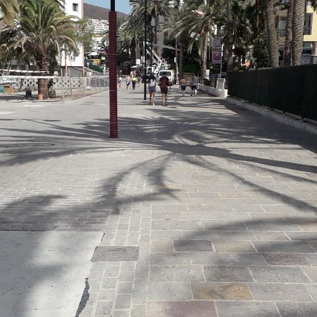 Los Cristianos, إسبانيا: Almost Finished 