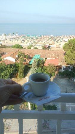 Hotel Marika: Вид с ресторана