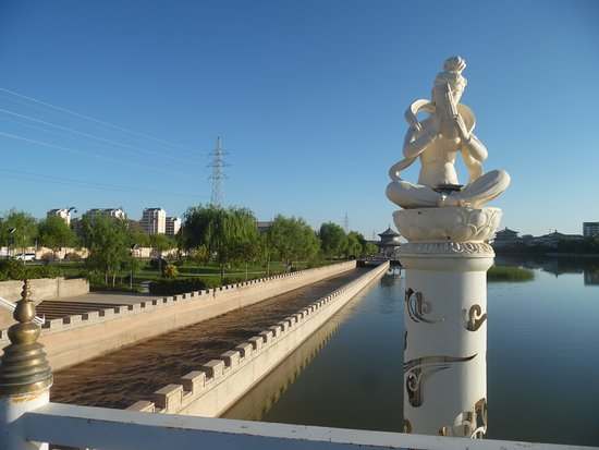 Baimata Bridge: north view from bridge - canal to the left