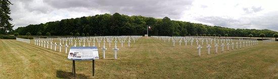 Nécropole nationale de Dompierre: vista panoramica del cementerio