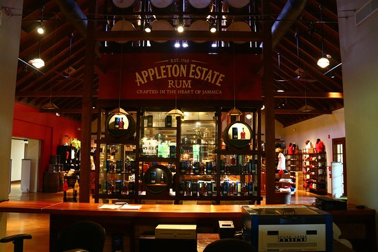 The Mecca for rum drinkers - gift shop