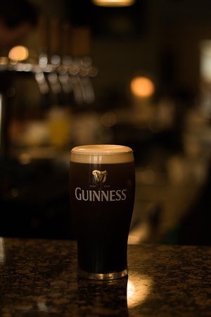 Edenderry, Irlandia: Guinness.