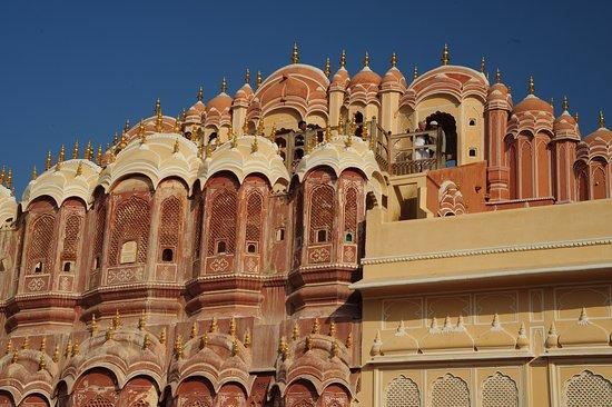 Džajpur, Indija: Lato verso cortile interno del Palazzo dei Venti - Jaipur - India. Cliccare sulla foto per vederla come scattata.