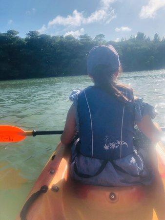 Ishigaki Island Canoeing Tour Lagoon Bild